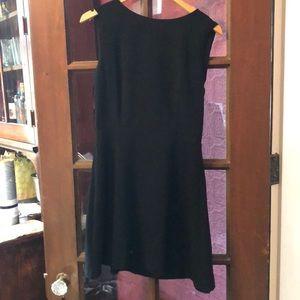 NWT - A-like black dress with bow back